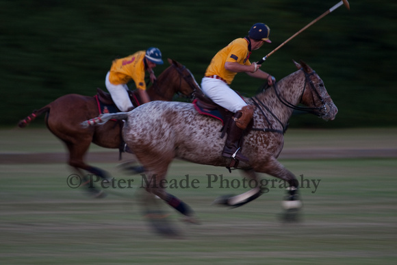 Summer Nights polo at RMA Sandhurst