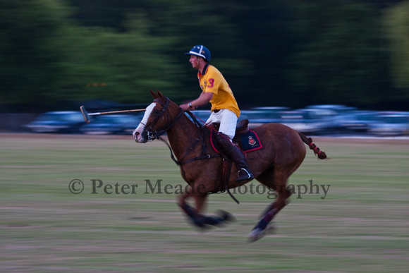 Summer Nights polo at Sandhurst