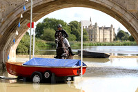 Land Rover Burghley Horse Trials Cross Country stage 2015