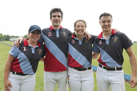 The RAF polo team