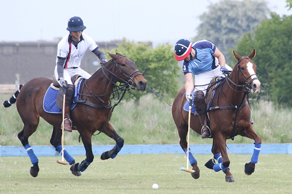 Polo action at RAF Cranwell