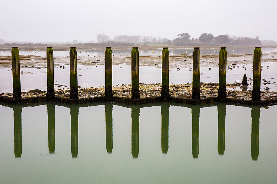 Reflections at Bosham Quay