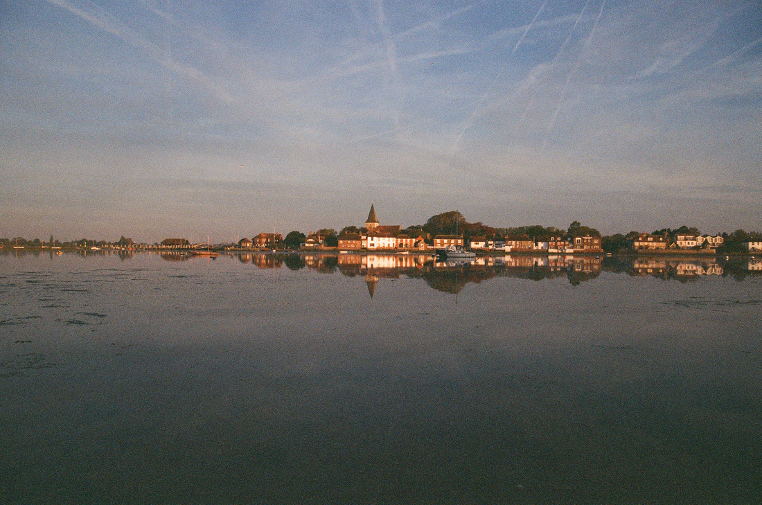 Golden hour at Bosham