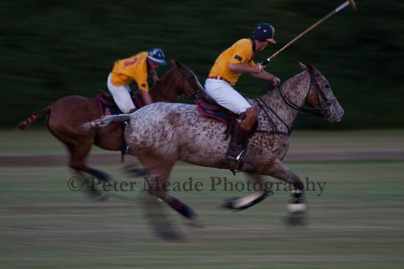 Summer Nights polo at RMA Sandhurst